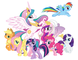My little pony vector by Stell-e