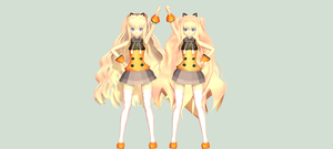 SeeU mmd DL BACK UP by princessfox1