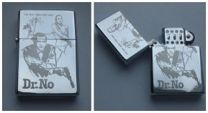 JAMES BOND - DR NO - engraved lighter by Piciuu