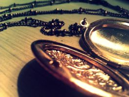 empty locket by jorance
