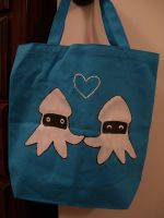SMB Blooper Love Tote by sneakycoon