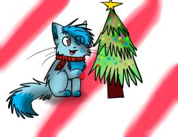 Dressing the Christmas Tree by Stressed-Panda