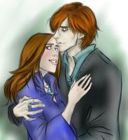 Bella and Edward by jolly2