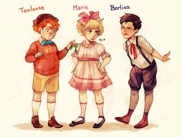 The little Aristocats by Maby-chan