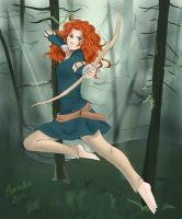 Merida - Last Arrow by Maneodra