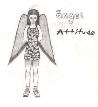 Angel with an Attitude by Uvuriel03
