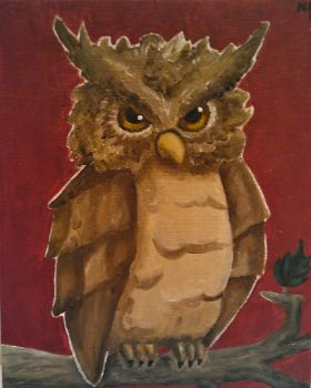 Owl by NNpaintings