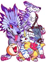 Gabu Fam by squeedgemonster