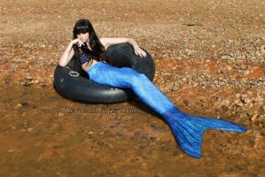 Mermaid in thought (2014) by QueenWerandra
