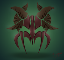 demonic knight logo by Radu-Corbu