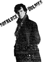Sherlock Holmes -- Benedict Cumberbatch by Vdemike