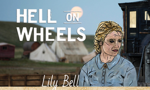 Hell on Wheels: Lily Bell by MidnightMustangArt