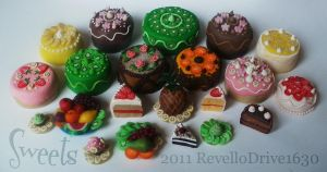 My miniature Sweets by RevelloDrive1630