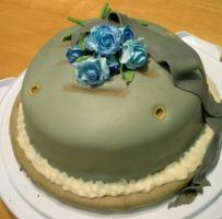 Metal Gear Solid: Cake Eater by scowlingelf