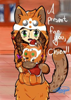[CONTEST] A present for you!! by Mewyia