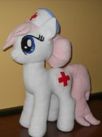 My Little Pony NURSE REDHEART custom plush by MLPT-fan