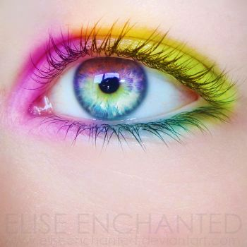 Colored my world by EliseEnchanted