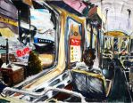 Chicago Subway Derive Project by yensidtlaw1969