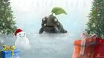 Mr Snowball by LegendArts by RsJagexltd