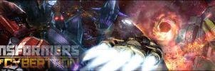 Fall Of Cybertron Banner by leangreen76