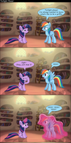 [Comic] Twilight please! by GoingLucky