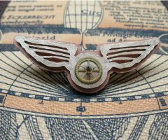 Steampunk Airship Pilot Wings8 by Utinni
