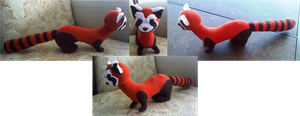 Pabu Plushie by demenian