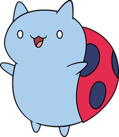 Catbug by sircinnamon