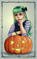 Halloween girl by JPerezS