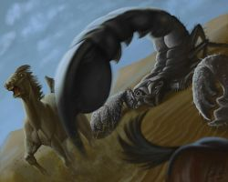 Giant Scorpion by CharReed