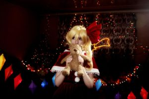 Flandre Scarlet Touhou cosplay Christmas by Tenori-Tiger