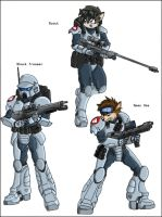 Mobius Chronicle: U.N. Marines by zeiram0034