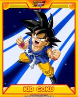 DBGT-Kid Goku V2 by el-maky-z