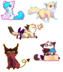 Kittybliiss Chibi Batch //PC by memedokis