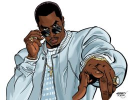 P Diddy by ScottCohn
