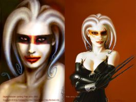 Pale :: Old vs. new by fantasio