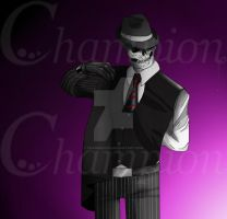Skulduggery Pleasant - Clothes by Championx91