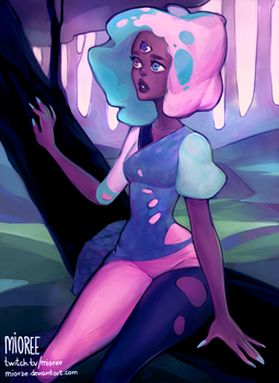 CottonCandy Garnet by mior3e