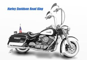 1998 Harley Davidson Road King by steverino365