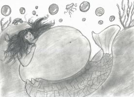 bbw Mermaid Kristina by Brockwel