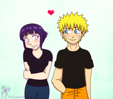 NaruHina: Shy love by chachi411