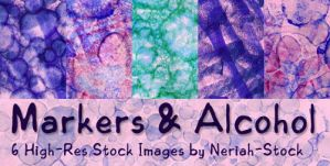 Markers and Alcohol by Neriah-stock