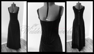 Black Widow Dress. III (sold) by chac-chac