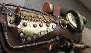 Space Bracelet of the Time Mistress by Steampunk-Italia