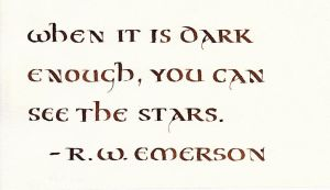 Ralph Emerson - When It Is Dark Enough by MShades