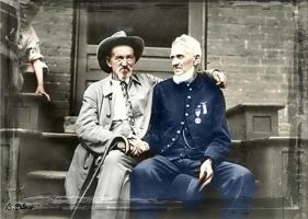 Gettysburg Reunion, North and South by ziegfeldfollies