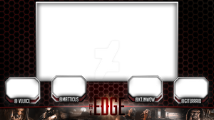 The Edge - Video Podcast 4-Panel w/ Video Overlay by WhammoDesigns