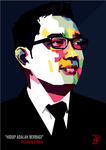 Ridwan Kamil in WPAP by setobuje