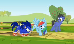 Are you ready?! - MLP Sonic Request Crossover by LaurentChokobita