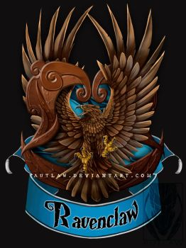 Ravenclaw Crest by Autlaw